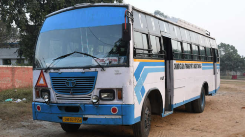 CHANDIGARH to JAMMU Bus Time Table
